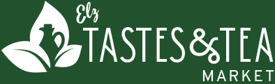 ELZ Tastes & Tea Logo