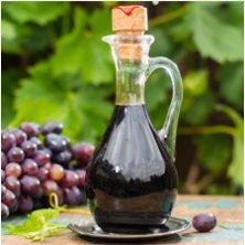 cruet of dark vinegar