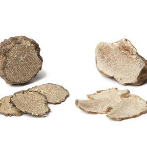 Black and white truffle