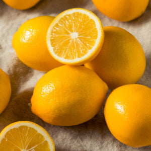 Raw Yellow Organic Meyer Lemons