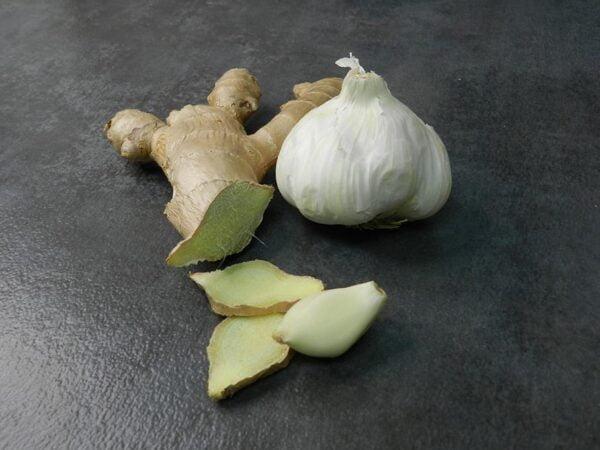 Ginger Garlic toasted sesame oil