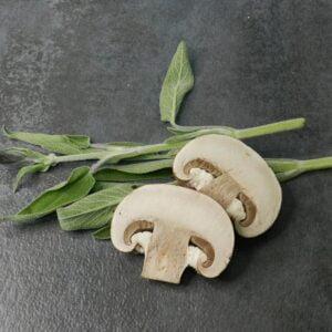 mushroom sage EVOO